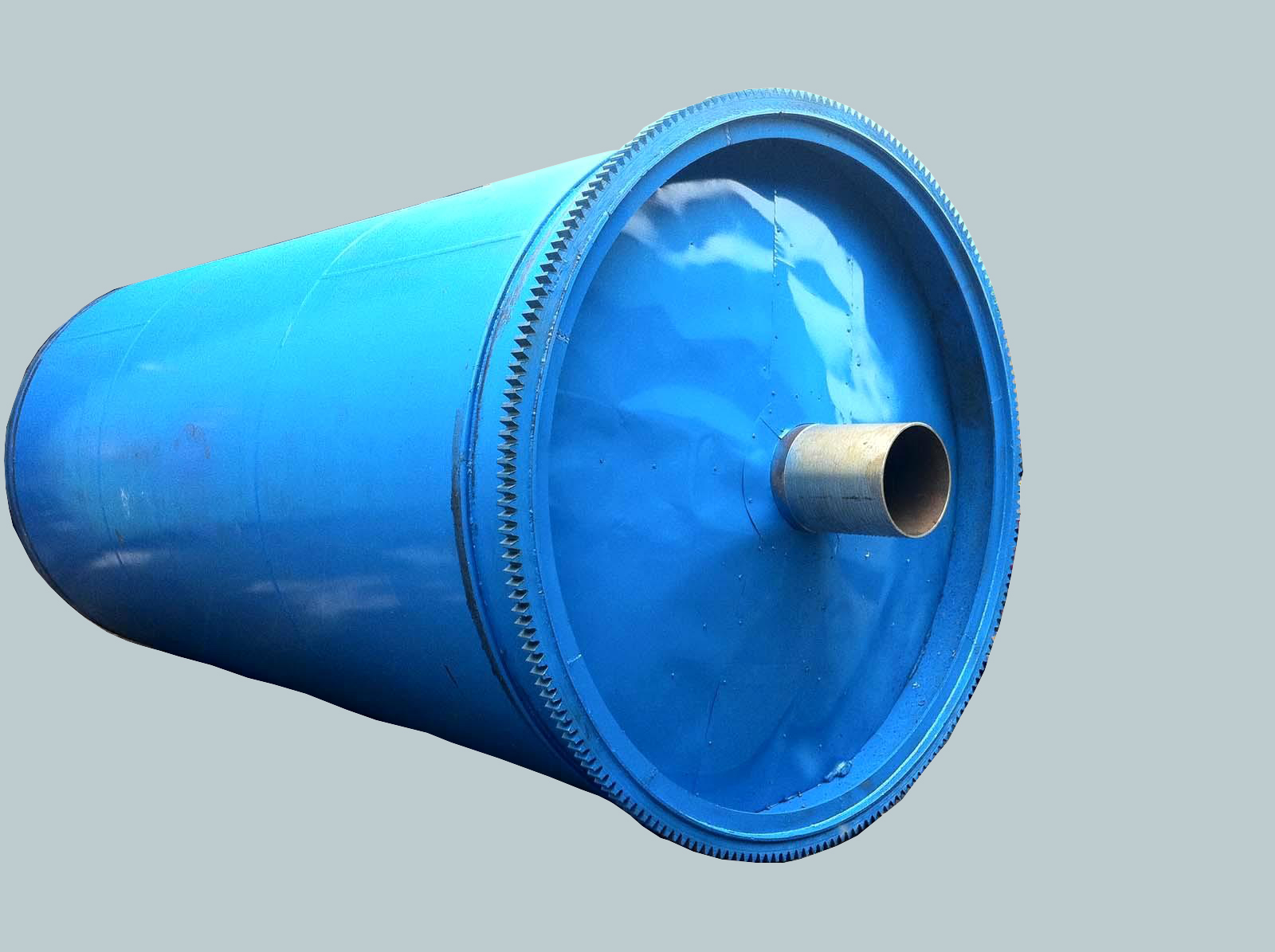 New design environmental protection semi-continuous waste plastic pyrolysis equipment tyre pyrolysis plant