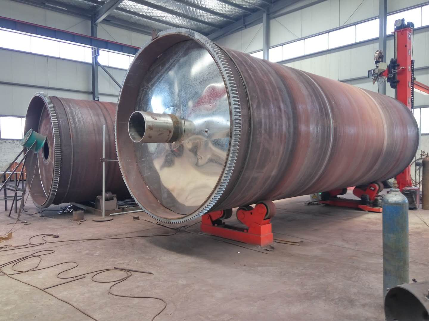 CE certification Used tyre Vulcanizing Tank/tyre pyrolysis plant