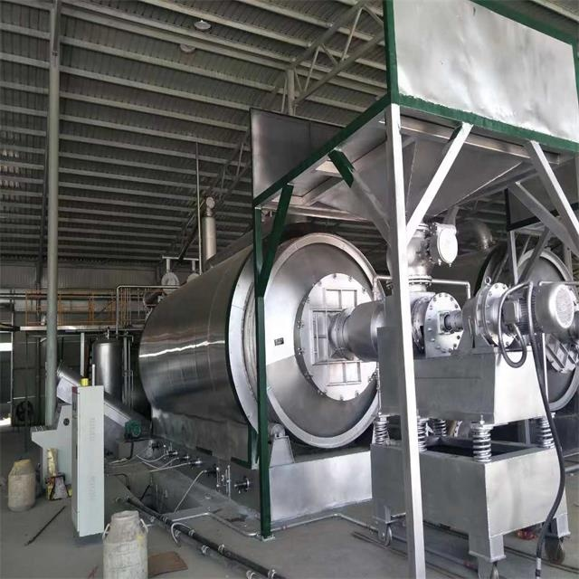 Low investment high profit waste rubber tyre pyrolysis plant to diesel