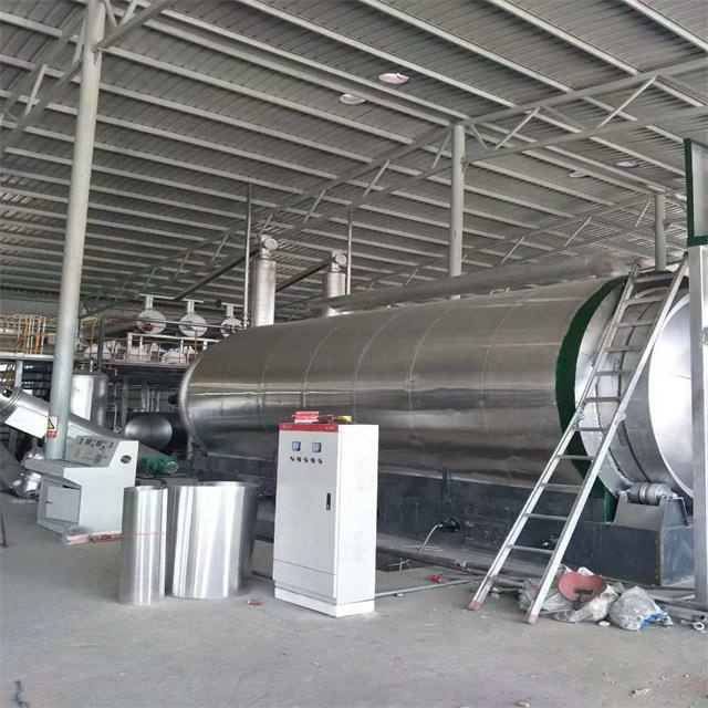 Environmental Protect Used Plastic Recyclie Pyrolysis Plant To Diesel