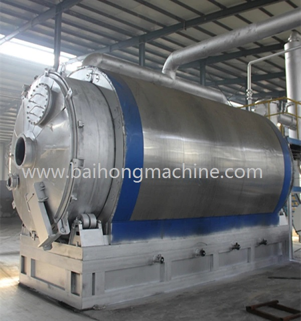 High capacity plastic pyrolysis equipment used tire pyrolysis plant for sale
