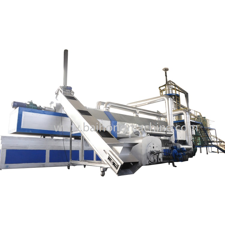 Latest technology mobile waste oil pyrolysis plant in Malaysia