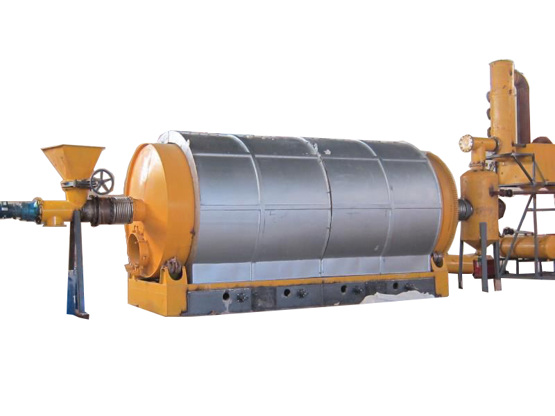 Fully Automatic Tire pyrolysis Plant to Fuel Oil Carbon Black