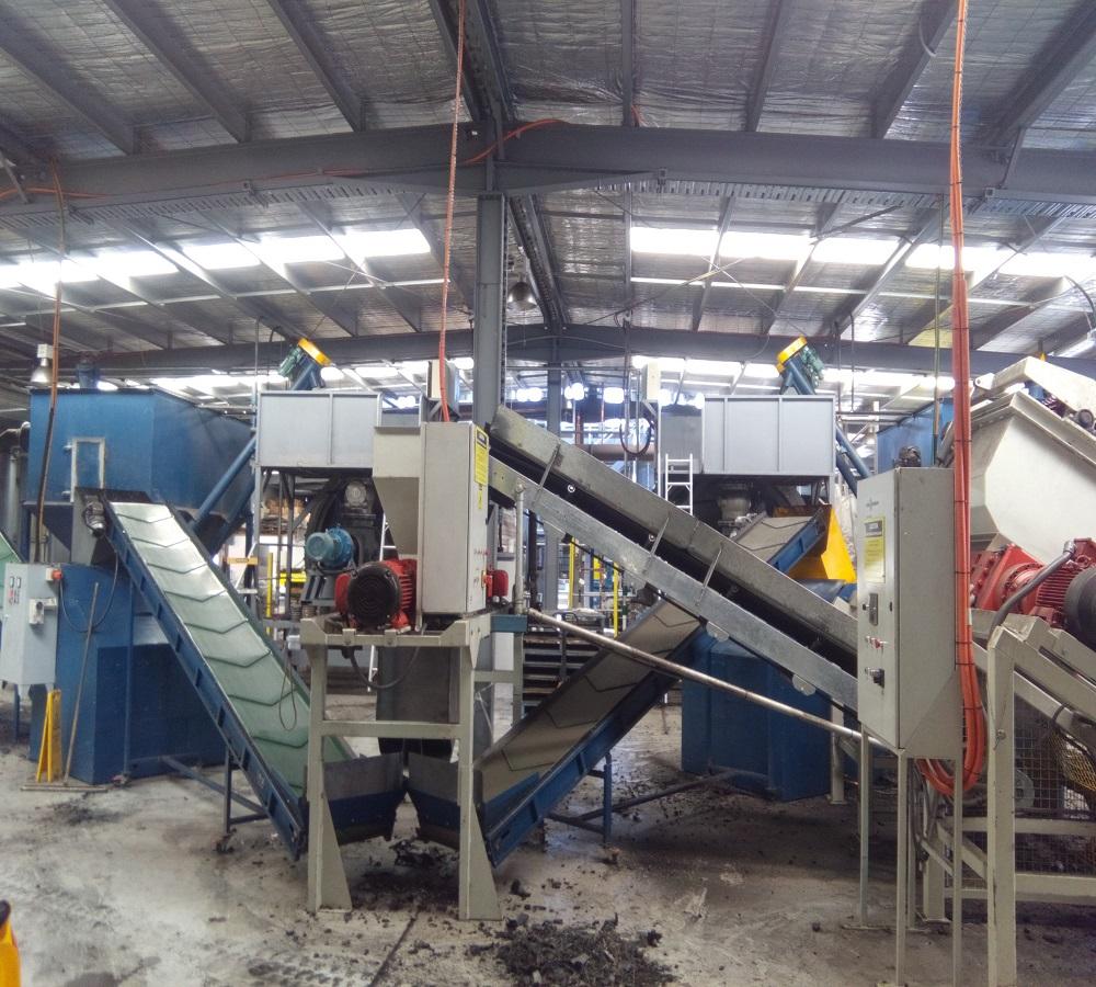 Plastic/tyre oil pyrolysis plant