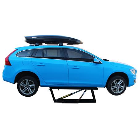 Single Post Inground Car Lift Case
