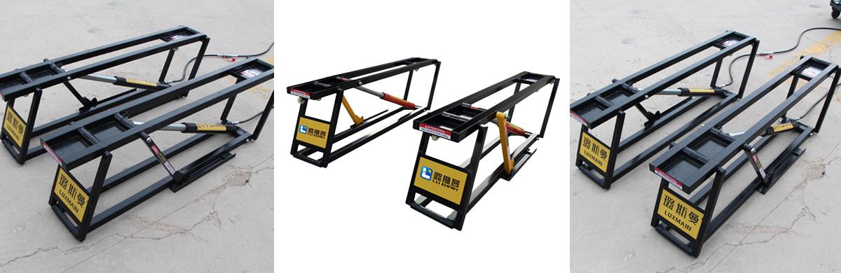Portable Single Post Car Lift