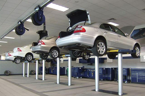 Two Post Inground Car Lift