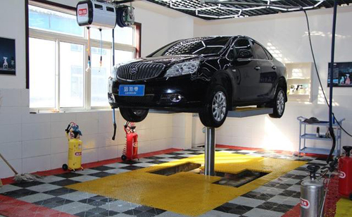 Hydraulic Scissor Design Car Lift