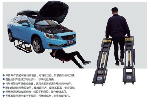 Movable Car Lift