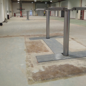 Underground Car Lifts 2 Post