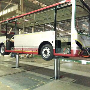 Double Cylinder Hydraulic Inground Car Lift
