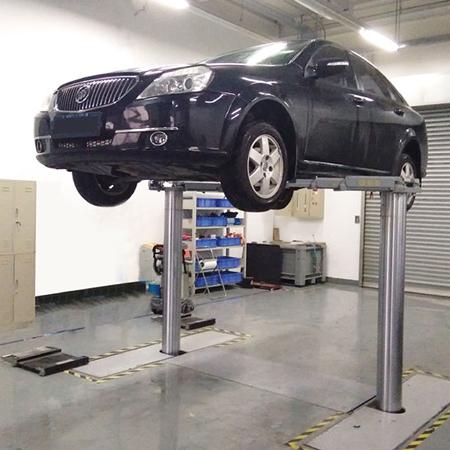 Two Post Inground Car Lift