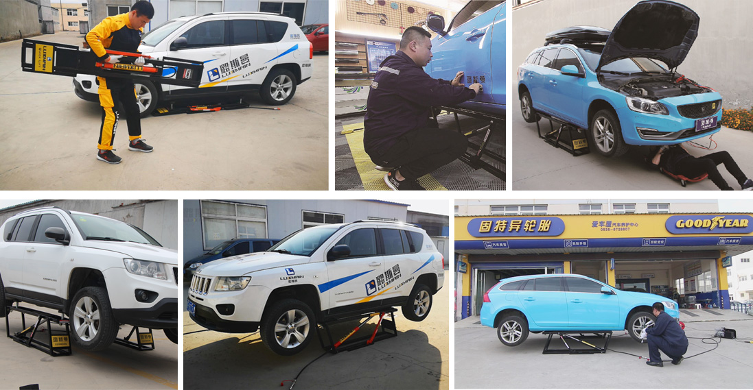 Hydraulic Car Lift For Service Station Wholesale