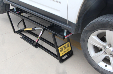 Portable Quick Lift in the auto repair industry - safety is the first element