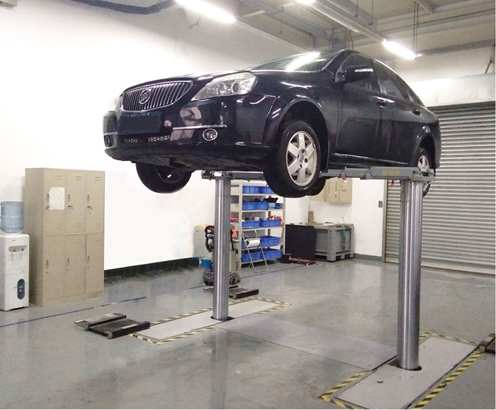 Heavy Truck Inground Car Lift