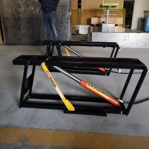 Movable Single Post Car Lift