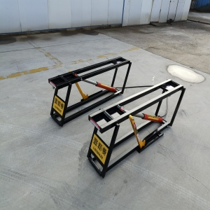 Movable Small Two Platform Car Lift