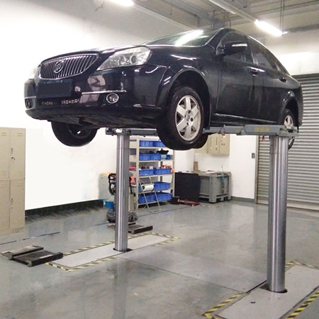 2 Post Hydraulic Inground Car Lift