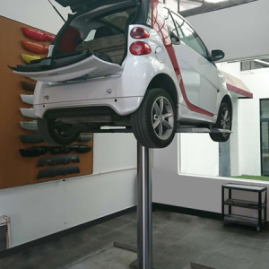 Single Post Hydraulic Inground Car Lift