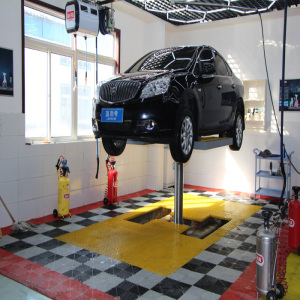 1 Post Washing Inground Car Lift