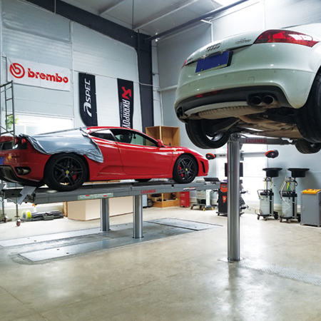Hydraulic Inground Car Lift