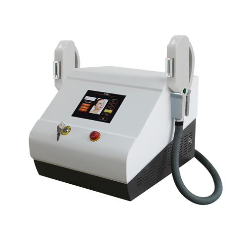Máquina de depilación SHR / IPL + elight + RF para depilación