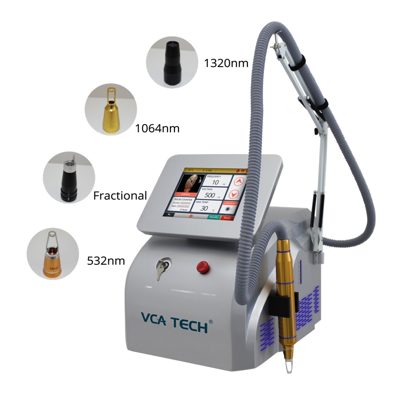 Picosecond + Nd: YAG Laser 2 in 1 system