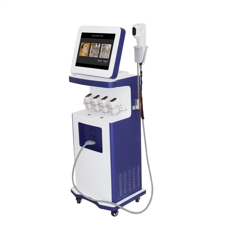Salon Use 3 In 1 3D 4D Eye Wrinkle Removal Face Lift Body Slimming Beauty Hifu Machine