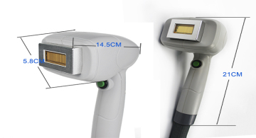 808nm diode laser New headpiece for agent