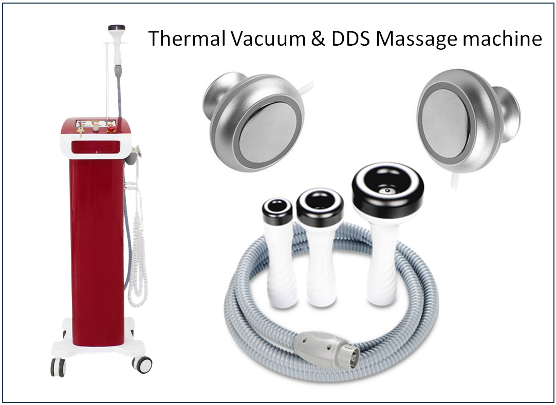 Thermal Vacuum & DDS magnetic physiotherapy machine