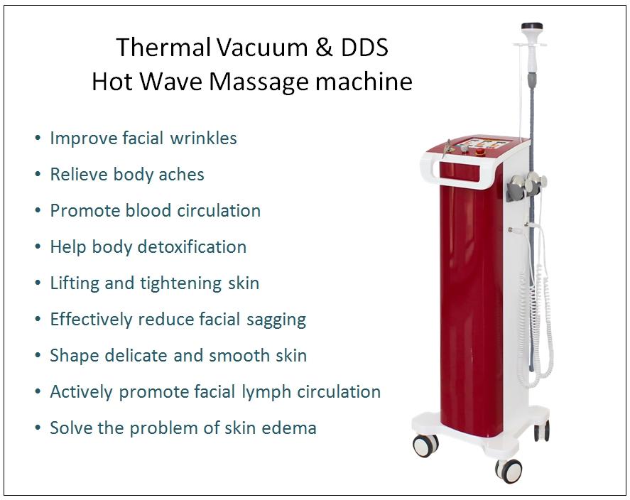 Thermal Vacuum & DDS Microcurrent Stimulation Beauty Machine