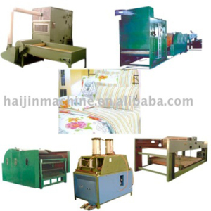 Bedding cloth machine