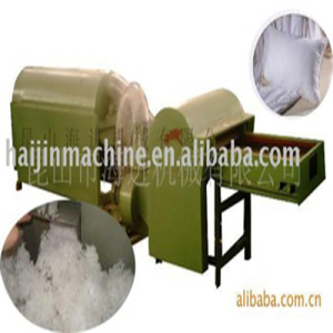 Auto feeding ball fiber machine