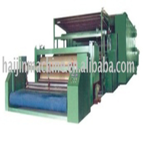 Non-woven machine for spraying collodion