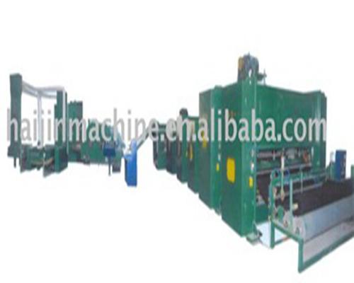 Linha de produção de fibra de poliéster ligada