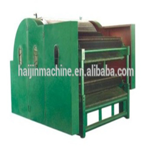 Carding machine for wadding production line