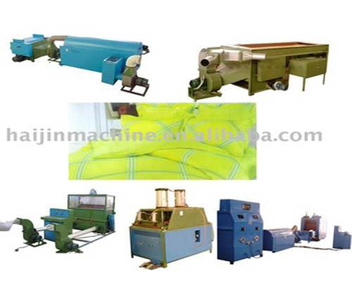 Máquina de enchimento de coxim