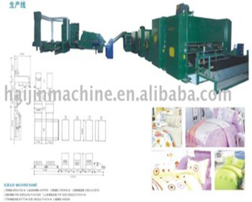 оборудование для производства одеяла