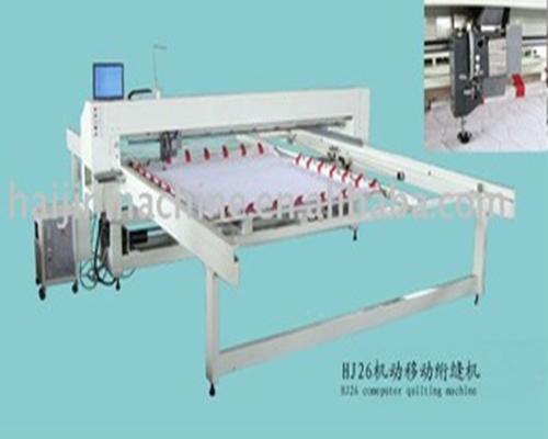 Máquina de quilting de agulha única informatizada