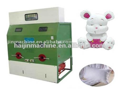 Auto brinquedo e travesseiro enchimento máquina de fibra