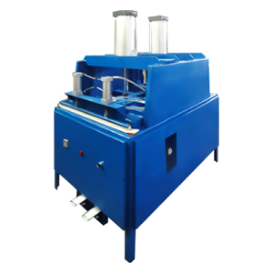 Two-cylinder Double-sealed Pillow Pressing Machine HJFK-100*2