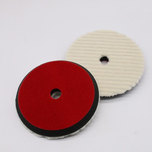 "7"" High Quality wool material car polishing pad"