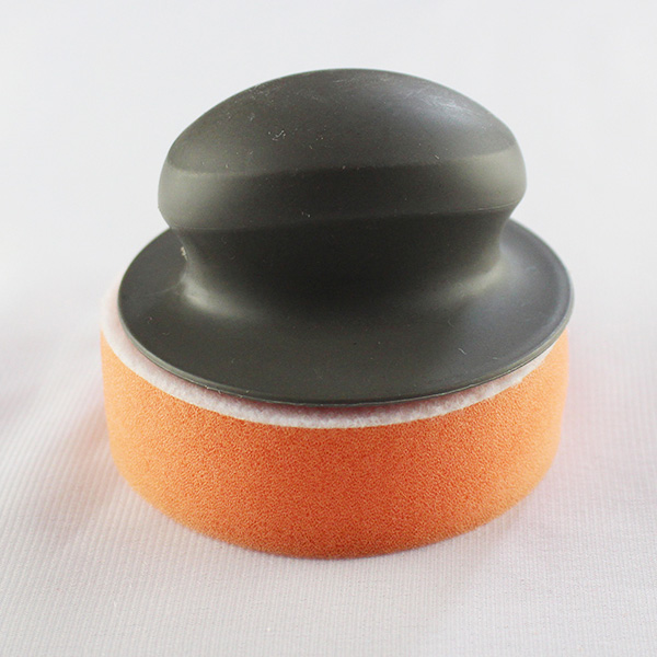 Soft round sponge polishing wheels with different color