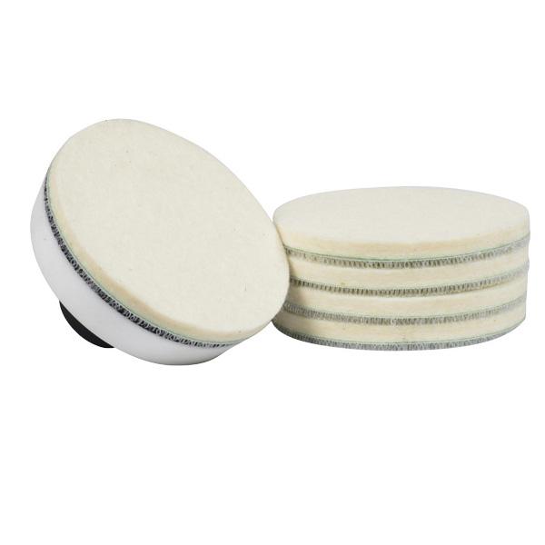 5inch round shape wool felt polishing wheels