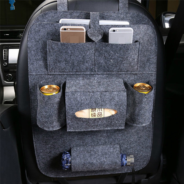 The latest felt smart car trunk back seat organizer