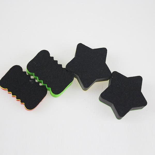Small Size Multifunction Magnetic Whiteboard Duster Felt Whiteboard Eraser