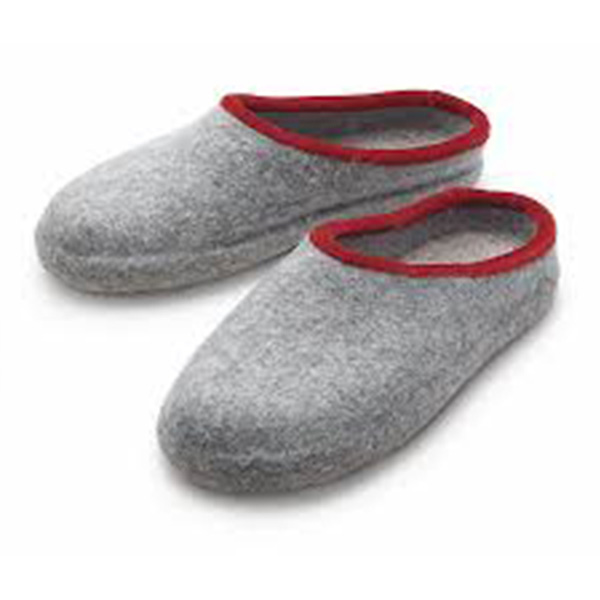 Warm Multi-Colored Handmade Family Soft Felt Easy Slippers