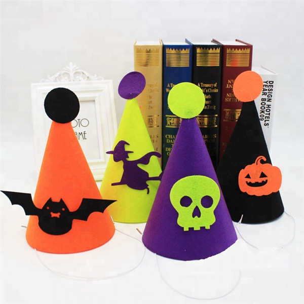 Halloween party decoration animal felt hat design party hat