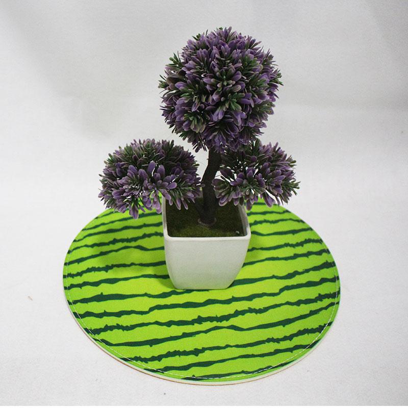 2019 New Botanical Decorative Fashion design felt sofa Cushion
