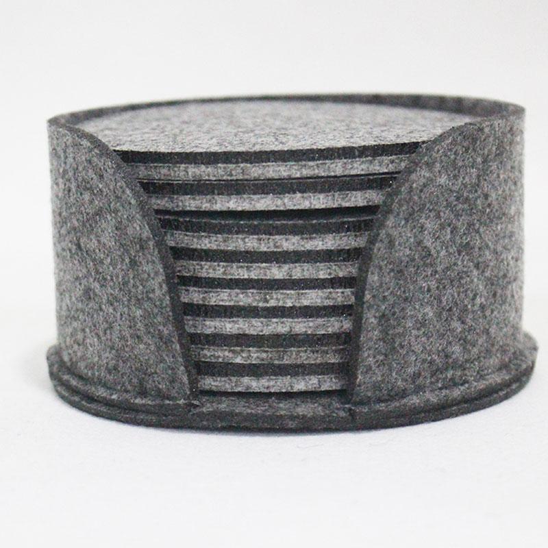 Top quality felt desk cup mat